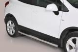 Nerez boční nášlapy se stupátky Opel Mokka