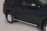 Nerez boční nášlapy se stupátky Toyota Land Cruiser 150