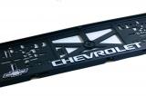 Podložka pod ŠPZ 3D Chevrolet