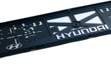Podložka pod ŠPZ 3D Hyundai