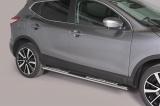 Nerez boční designové nášlapy Nissan Qashqai II