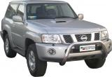 Přední ochranný nerez rám Nissan Patrol GR