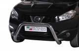 Přední ochranný nerez rám Nissan Qashqai II