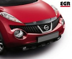 Plexi lišta přední kapoty Nissan Juke