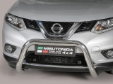 Nerezový přední ochranný rám Nissan X-Trail III, 76mm