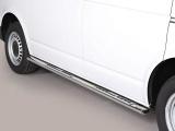 Nerez boční designové nášlapy Volkswagen Transporter T6