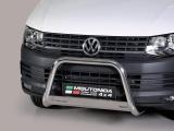 Nerezový přední ochranný rám Volkswagen Transporter T6