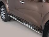 Nerez boční designové nášlapy Nissan Navara NP300