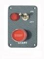 Štartovací panel carbon look - typ SEP3021