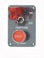 Štartovací panel carbon look - typ SEP3025