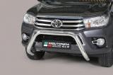 Nerezový přední ochranný rám 76mm Toyota Hilux VIII