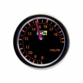 Přídavný budík Raid Night Flight Red - voltmetr