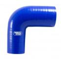 Silikonová hadice Samco redukční koleno 90° 70 > 63mm