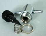 Manuální regulátor plnícího tlaku (MBC) chrom Turbo Parts