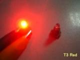 LED palubní deska Neo Wedge T3 červená