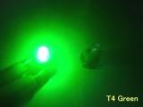 LED palubní deska Neo Wedge T4 zelená
