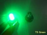 LED palubní deska Neo Wedge T5 zelená
