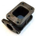 Redukční adaptér na turbo T3 > T3 + wastegate 38mm (litina)