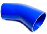 Silikonová hadice HPP koleno 45° 38mm