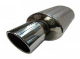 Koncový tlumič výfuku ProRacing MP14 - nerez - 63,5mm