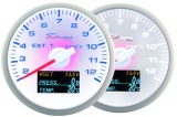 Prídavný budík Depo Racing WBL 4in1 - EGT, voltmeter, tlak oleja, teplota oleja