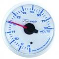 Prídavný budík Depo Racing WBL - voltmeter