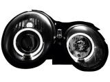 Přední čirá světla Angel Eyes Mercedes W208 Dectane