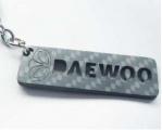 Karbónová kľúčenka Daewoo