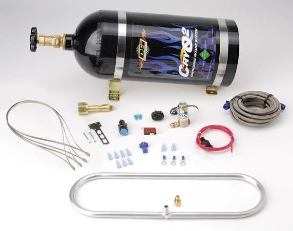 Sada pro ostřik intercooleru CO2 - DEI CryO2 Intercooler Sprayer Kit - 10lbs (4,6kg)