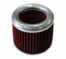 Športový filter univerzálny 60/65/70/76/90 / 100mm strieborný