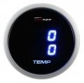 Prídavný budík Depo Racing Digital Blue LED - duálny teplota vody / oleja