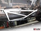 Rozperná tyč Ultra Racing Hummer H2 6.0 (03-09) - zadný spodný H výstuha