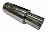 Koncový tlmič výfuku ProRacing MP54 - nerez - 54mm