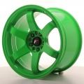 Alu kolo Japan Racing JR3 18x10,5 ET15 5x114,3/120 Green