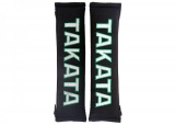 "Návleky na bezpečnostné pásy Takato 51mm (2 "") - čierne"