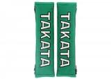 """Návleky na bezpečnostné pásy Takato 51mm (2 """") - zelené"""