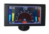 LCD panel 6in1 Ra - otáčky motora, napätie, teplota vody a oleja, tlak oleja, hodiny