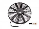 Vysoce výkonný ventilátor Spal - tlačný, průměr 225mm, 24V