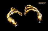Laděné výfukové svody se sportovními katalyzátory Innotech (IPE) na Porsche 991 GT3 (13-15) / GT3 RS (15-16) - titanové