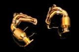 Laděné výfukové svody se sportovními katalyzátory Innotech (IPE) na Porsche 981 Boxster/Cayman (12-16) - titanové