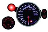 Přídavný budík Depo Racing 95mm - rychloměr s indikátorem max. rychlosti a možností měření pomocí GP