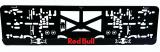 Podložka pod ŠPZ 3D Red Bull