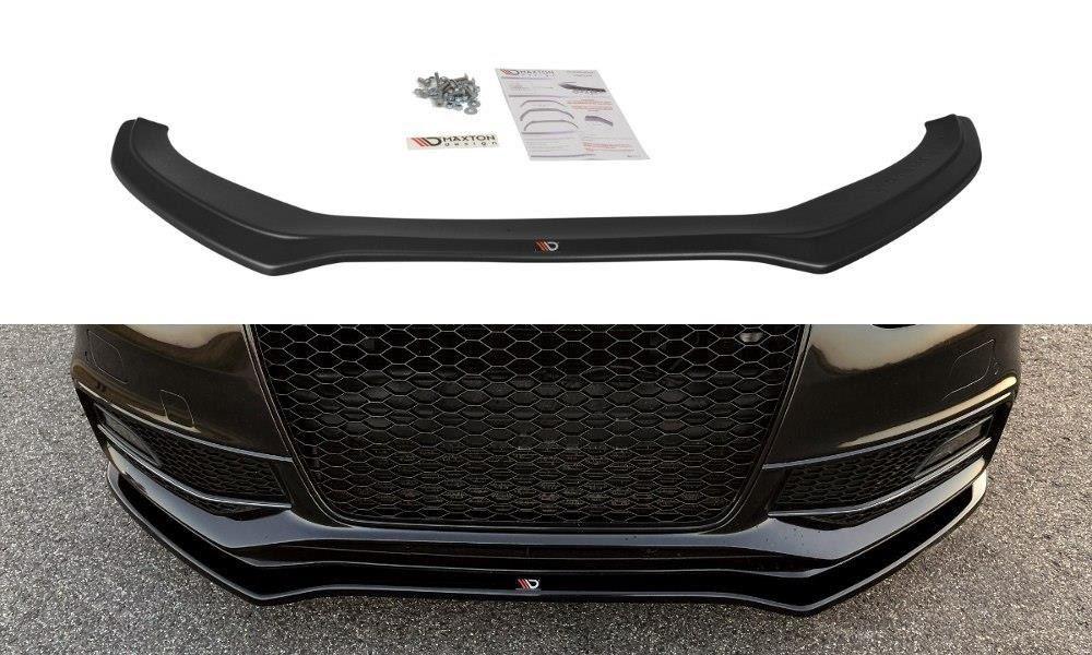 Spoiler pod predný nárazník Audi S4 B8 Facelift 2012- Maxtondesign