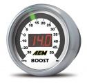 Digitálny budík AEM tlak turba -30-35psi