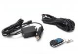 Elektronický diaľkovo ovládaný kontrolér pre jednu elektronickú výfukovú klapku