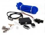 Elektronický diaľkovo ovládaný kontrolér pre mechanické podtlakovo riadené výfukovej klapky