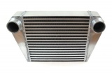 Intercooler FMIC 525 x 300 x 76mm (350 x 300 x 76mm) - výstupy 63mm