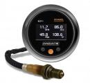 Prídavný budík Innovate Motorsports ECF-1 4in1 - obsah etanolu v% + teplota paliva + tlak paliva + wideband kit (širokopásmová lambda sonda)