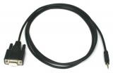 Programovací kábel so sériovým portom a stereo jack 2,5 mm Innovate Motorsports na pripojenie interfacu k PC