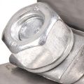 Spojovací spona na výfuk 51mm (2 palce) - nerezová Noname